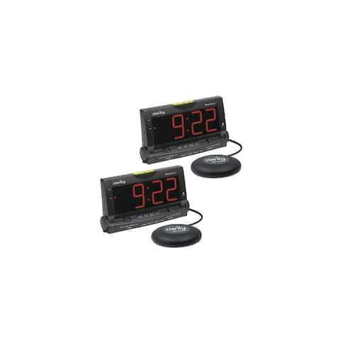 Clarity Wake Assure-2 Pack Loud Buzzer Alarm Clock
