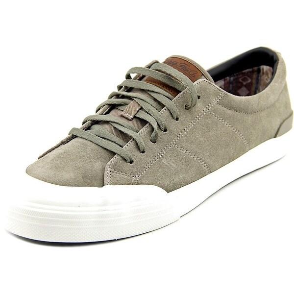 C1rca Fremont Men Round Toe Suede Gray Skate Shoe