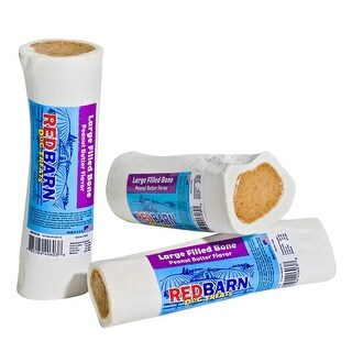 Redbarn Filled Bone Peanut Butter Large 15ct