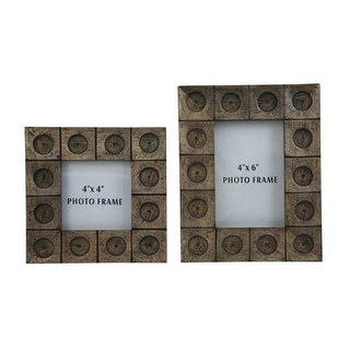 Jasiah Antique Gray Photo Frame A2000181F - Set of 2 Jasiah Antique Gray Photo Frame - Set of 2