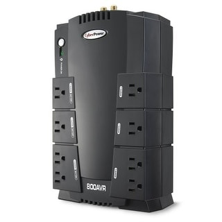 CyberPower Systems USA M14014 B CyberPower CP800AVR AVR Series UPS 800VA 450W Compact