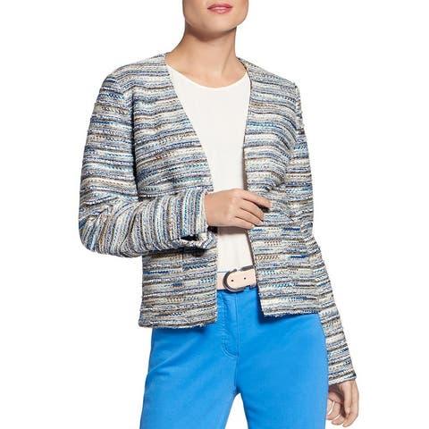 Basler Womens Blazer Tweed Short