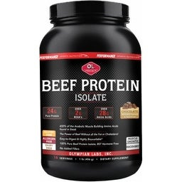 PSN Beef Protein 2lb. by Olympian Labs - Chocolate Flavor