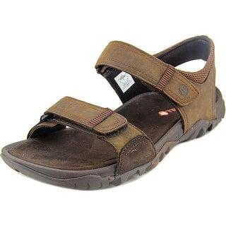 Merrell Telluride Open-Toe Leather Sport Sandal