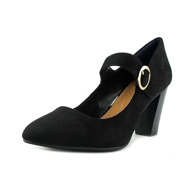 Style & Co Alabina Women Round Toe Synthetic Black Mary Janes