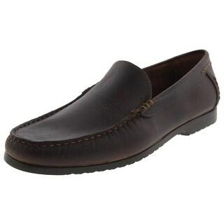 Robert Wayne Mens Alfi Loafers Leather Slip On - 10.5 medium (d)