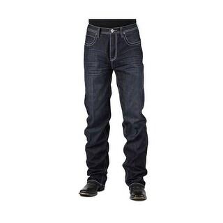 Stetson Western Denim Jeans Mens 1520 Fit Dark 11-004-1520-4051 BU