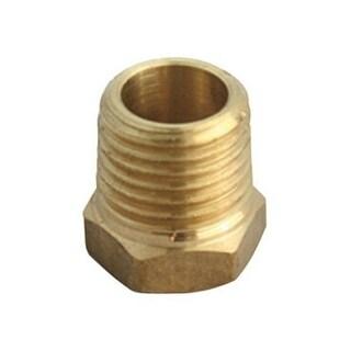 """JMF 4504973 Brass Hex Bushing Lead Free, 1"""" x 3/4"""""""