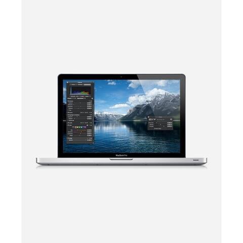 Macbook Pro 15.4-inch (Glossy) 2.6Ghz Quad Core i7 (Mid 2012) 750 GB Hard Drive 8 GB Memory - Silver