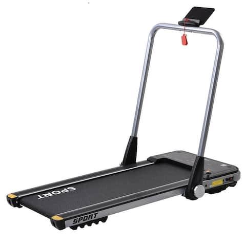Horizontally Foldable Electric Treadmill Motorized Running Machine