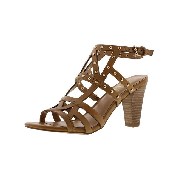 Franco Sarto Womens Calesta Dress Sandals Leather Studded