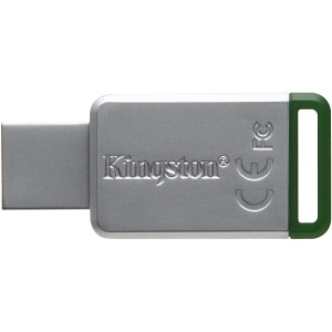 Kingston - 16Gb Usb 3.0 Datatraveler 50 (Metal/Green)