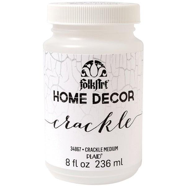 FolkArt Home Decor Crackle Medium 8oz-