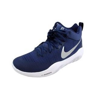Nike Men's Zoom Rev TB Midnight Navy/Metallic Silver 922048-401