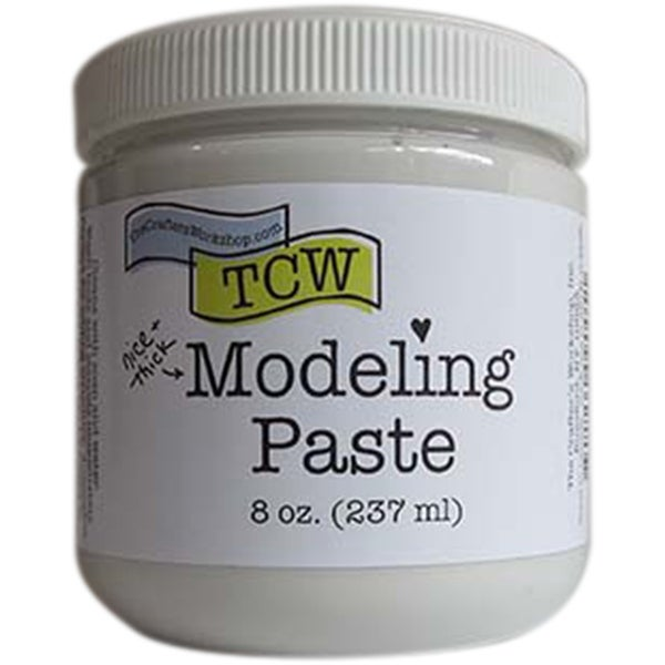 Crafter's Workshop Modeling Paste 8Oz-White