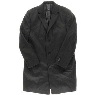 BOSS Hugo Boss Mens The Stratus5 Wool Lined Coat - 44R