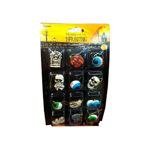 Darice Halloween Ornament Mini 1.25in 12pc