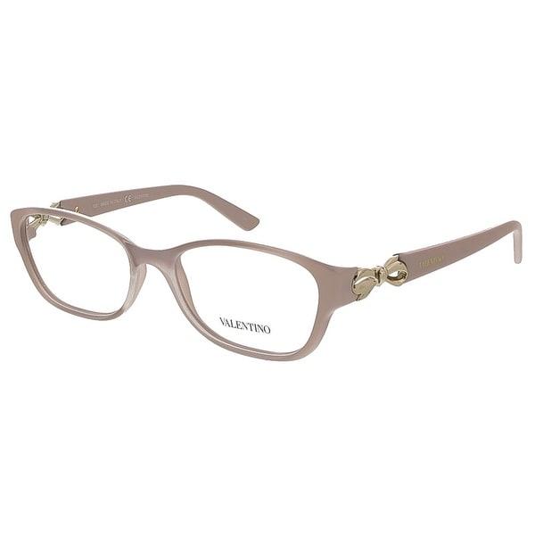 Valentino V2621 610 Rose Rectangular Valentino Eyewear - 52-16-125