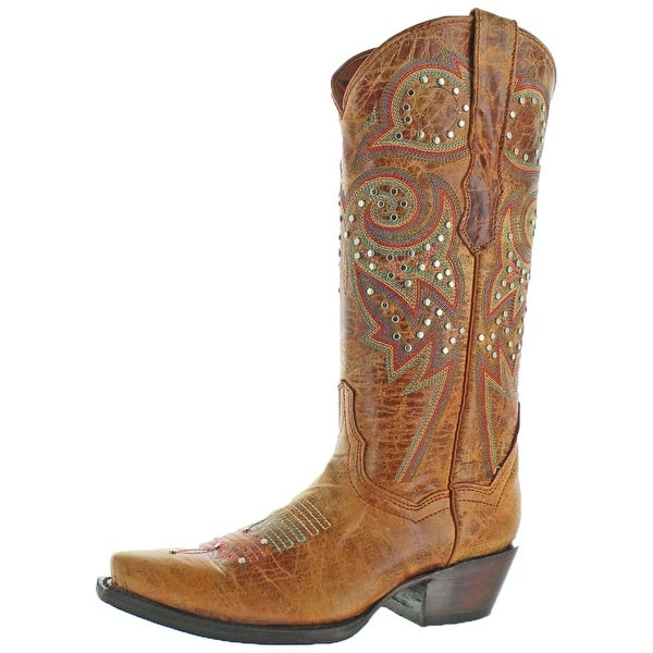 Corky's Poncho Women's Western Cowboy Boots Leather