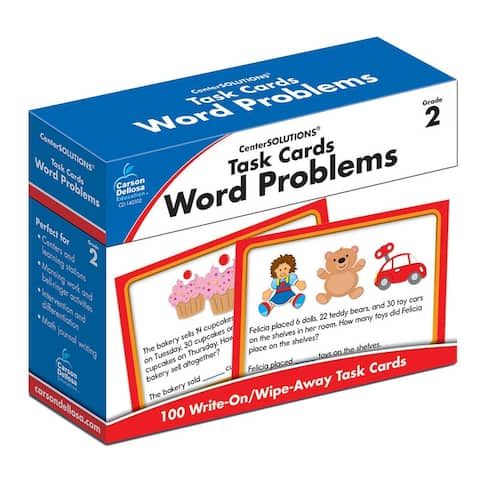 Task Cards Word Problems Gr 2