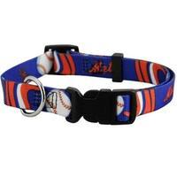 New York Mets Dog Collar - Small
