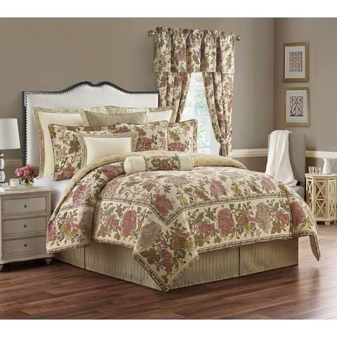 Amalia 4-piece Floral Cotton Comforter Set