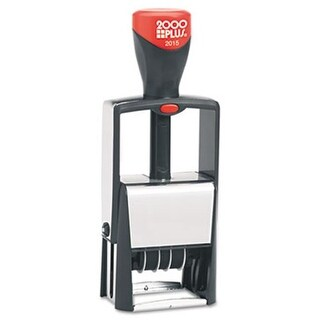 Consolidated Stamp 011200 2000PLUS Self-Inking Heavy Duty Stamps