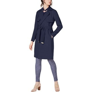 Link to Michael Kors Womens Belted Trench Coat, blue, Medium Similar Items in Women's Outerwear