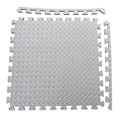 Multipurpose EVA Foam 24-foot Flooring Exercise Mat (6 Tiles)