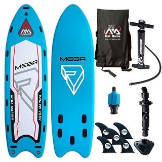 Aqua Marina Mega Group Inflatable Stand-up Paddle Board with Accessories BT-18ME