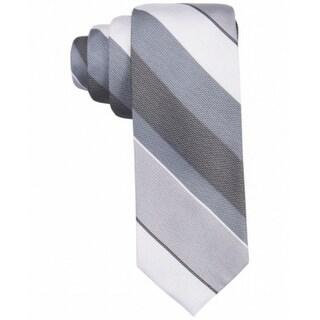Ryan Seacrest Distinction Sierra Stripe Men's Neck Tie Silk