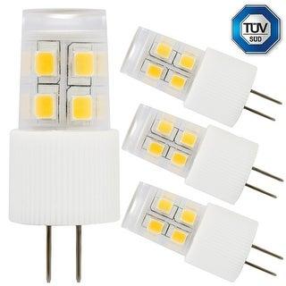 3-Pack 2W G4 LED Light Bulb, 20W Halogen Bulb Equivalent, Soft White 2700K