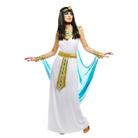 Goddessey Queen Cleopatra Adult Costume - White