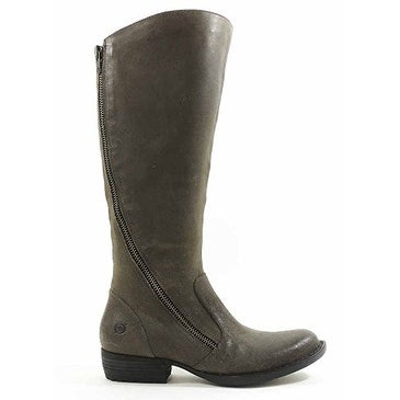B.O.C Womens IONA Leather Almond Toe Knee High Fashion Boots