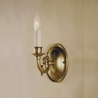 JVI Designs 218 1 Light Up Lighting Wall Sconce