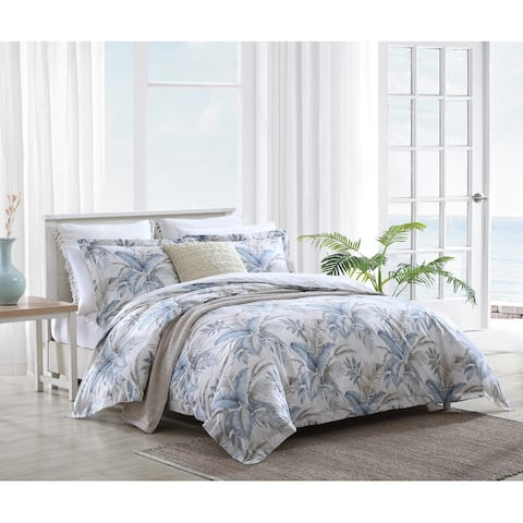 Tommy Bahama Bakers Bluff Cotton Blue Comforter Set