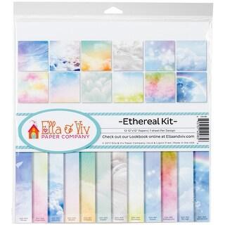 "Ella & Viv Collection Kit 12""X12""-Ethereal, 12 Designs/1 Each"
