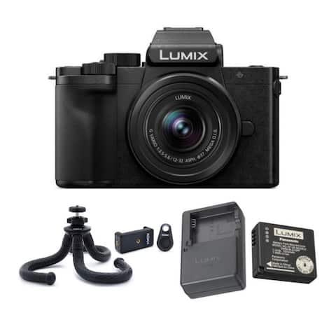 Panasonic LUMIX DC-G100KK 4K Mirrorless Vlogging Camera Bundle