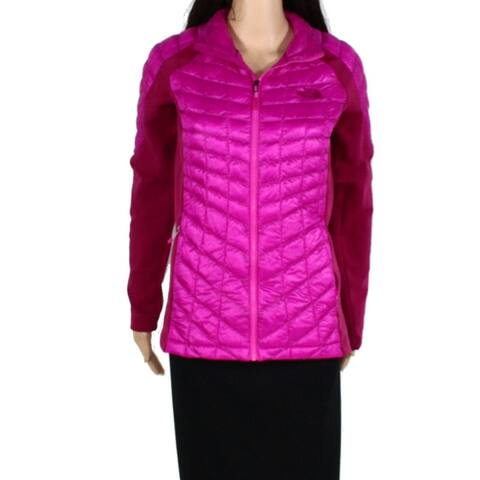 The North Face Womens Jacket Pink Size Small S Thermoball Quilted