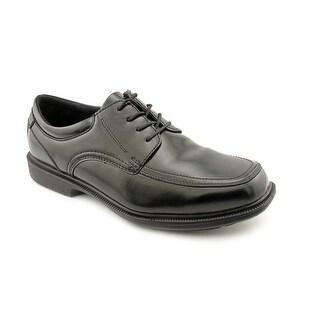 Nunn Bush Bourbon St Men Square Toe Leather Black Oxford