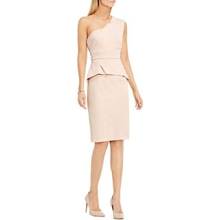 Vince Camuto Womens Cocktail Dress One Sholder Popover