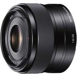 Sony 35mm f/1.8 OSS E-Mount Prime Lens - Black