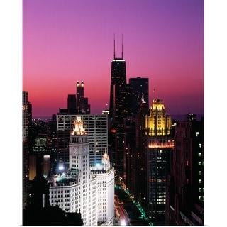 """Chicago, IL, USA"" Poster Print"