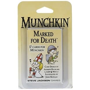 Munchkin Marked For Death Booster Card Game