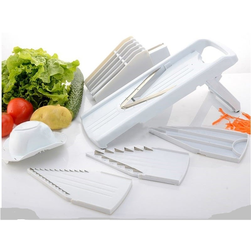 V-blade Mandolin Slicer 8 pcs Great Kitchen Tool