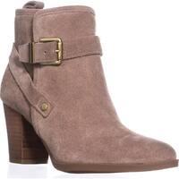 Franco Sarto Delancy Wrap Strap Ankle Boots, Mushroom