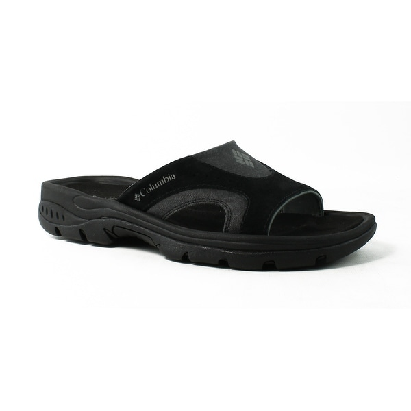 6169b9eef0ed ... Men s Shoes     Men s Sandals. Columbia Mens Tango™Slide-M  Black Charcoal Slides Size 7