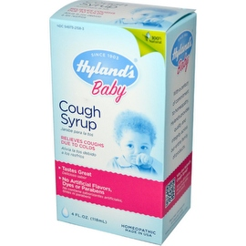 Hyland's Baby Cough Syrup 4 oz