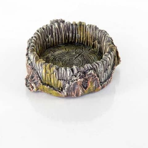 BioBubble Decorative Stump Bowl