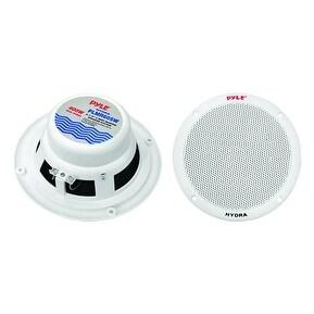 Pyle 6.5in 2 Way Marine Speaker White